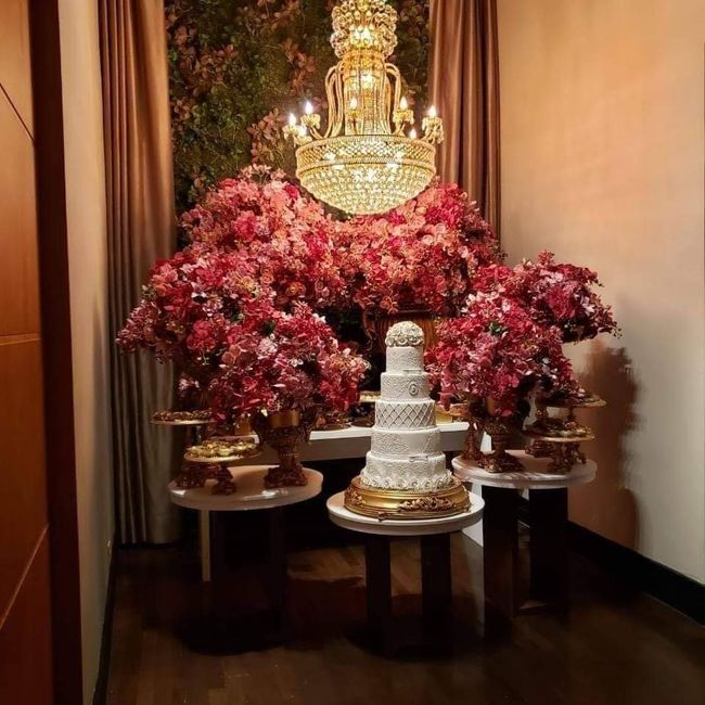 Flores artificiais no casamento 3
