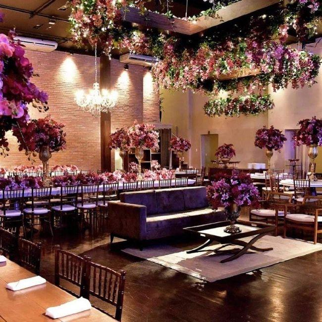 Flores artificiais no casamento 4