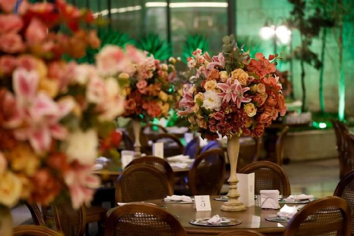 Flores artificiais no casamento 5