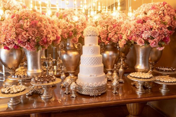 Flores artificiais no casamento 2