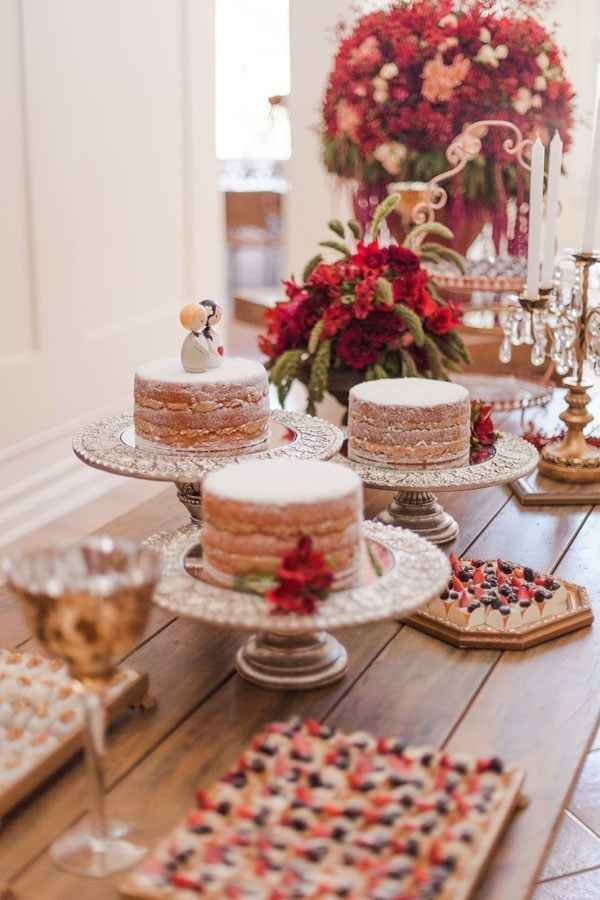 Quantos andares terá seu bolo de casamento? - 1