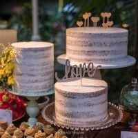 Quantos andares terá seu bolo de casamento? - 2