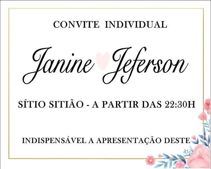 Meu Convite de Casamento (teste) 7