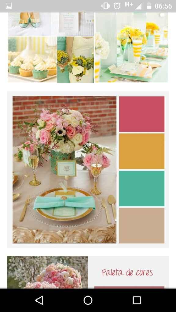 Já escolheu a cor do seu casamento? compartilhe - 1