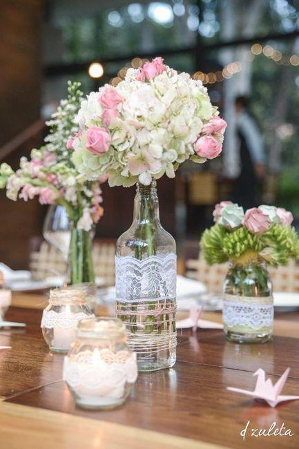 Inspira o centro de mesa diy for Mesas de centro bonitas