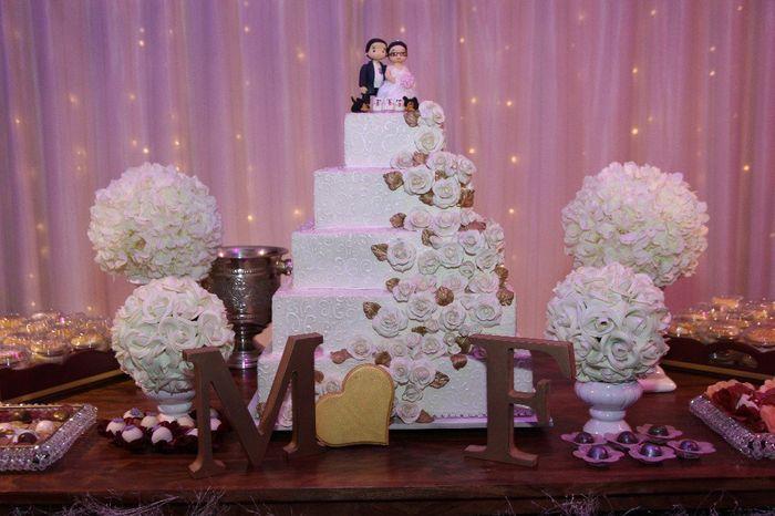 Casamentos reais 2018: o bolo 2