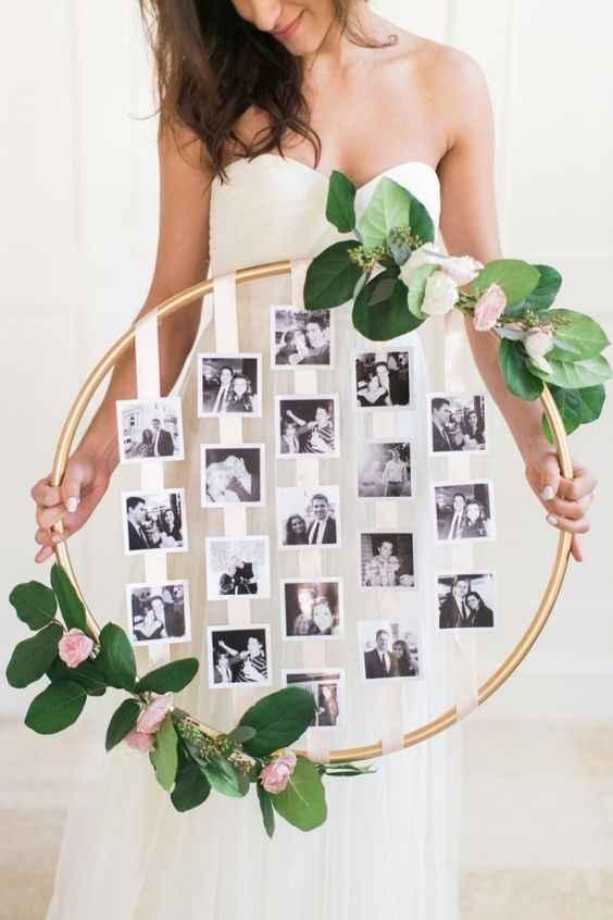 Guirlanda de fotos para decorar
