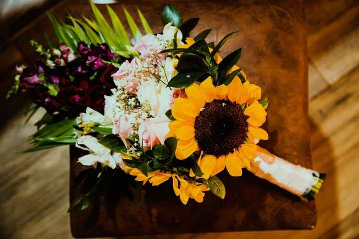 Girassol + outras flores