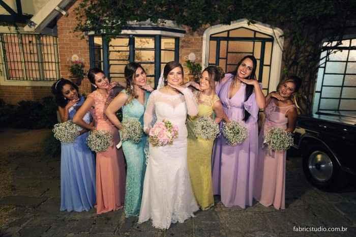 Candy Colors - casamento noturno