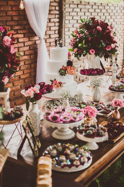 Inspiração: decoração marsala e rosa chá 5