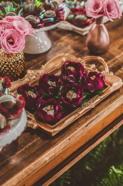 Inspiração: decoração marsala e rosa chá 13