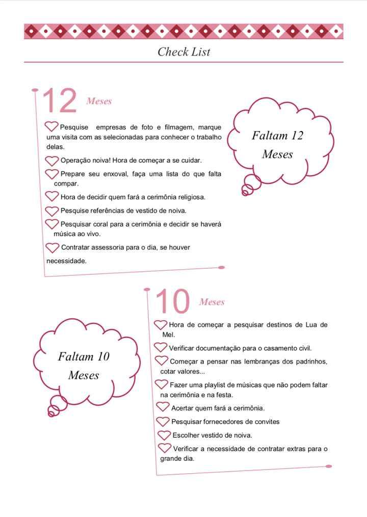 Check List - Personalizado - 1