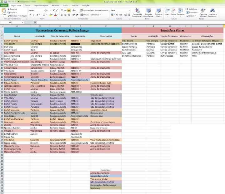 Minha Planilha de Organização do Casamento - Dicas - 3