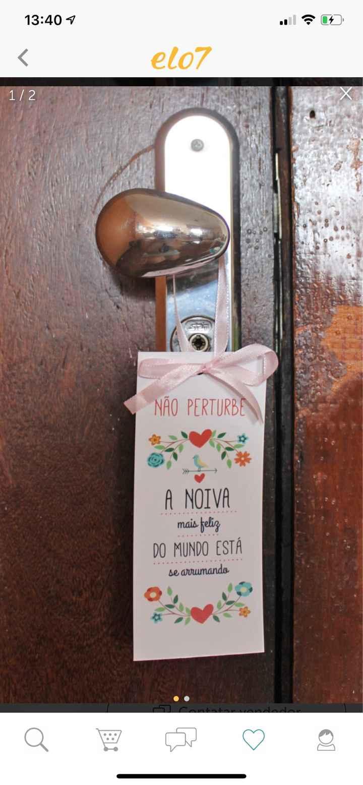 tag se porta (não perturbe) - Papelaria diy - 1