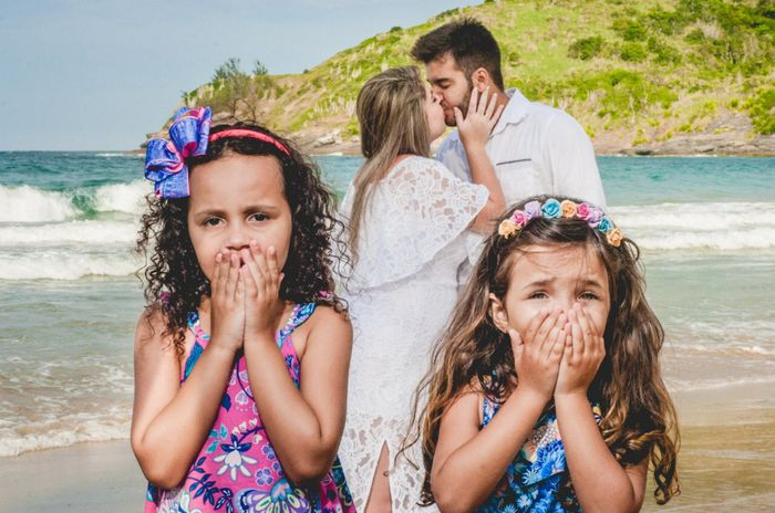 Pré-weddings na comu - Foto de beijo 16