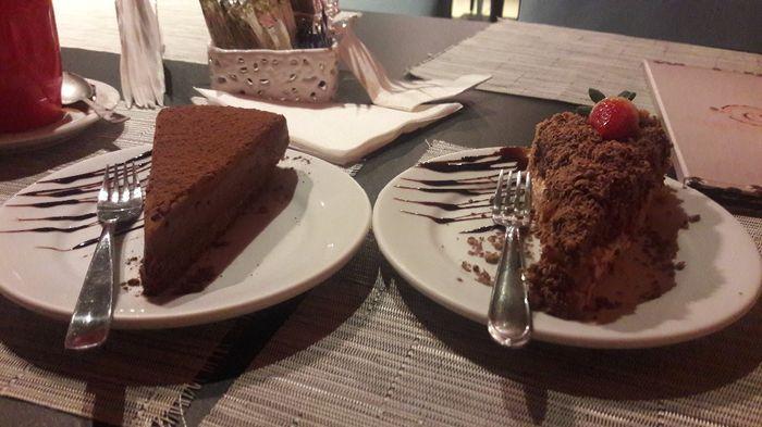 Não poderia faltar aquela torta delícia.