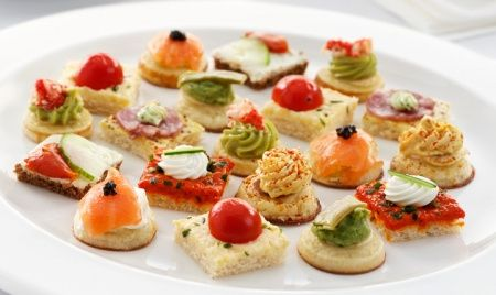 Contratar um buffet ou n o for Canapes simples e barato