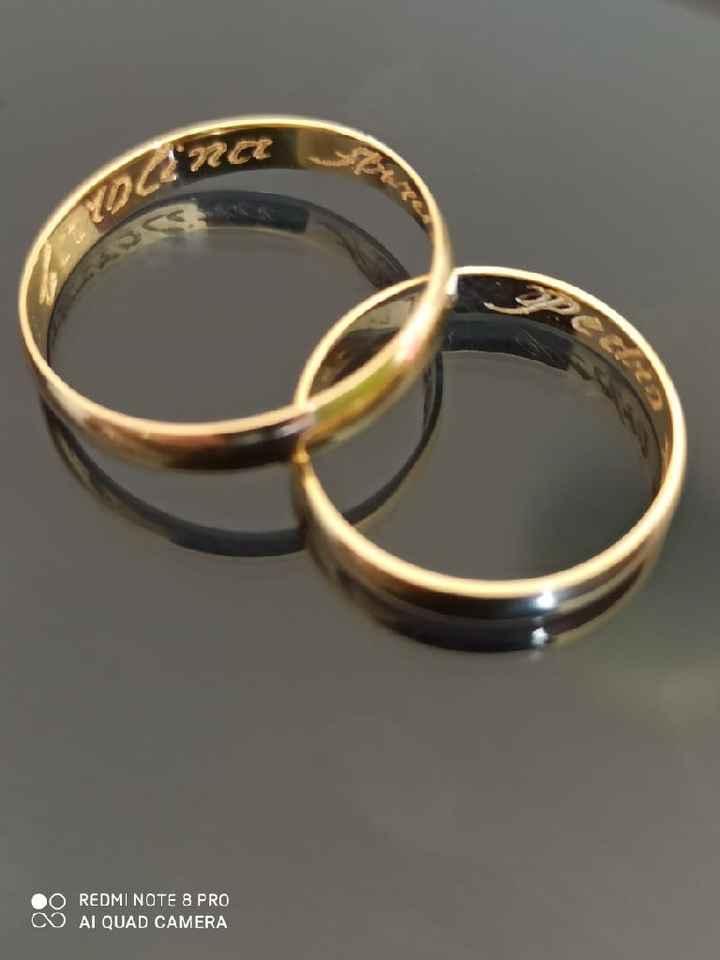 Como é sua aliança de casamento? - 1