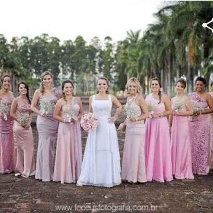 Escolhendo a cor do casamento - 1