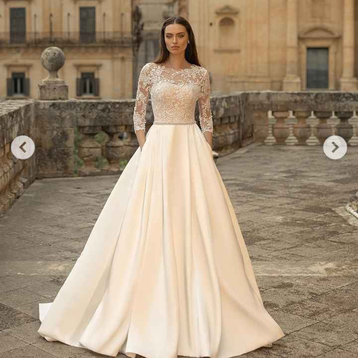Vestido de noiva em Zibeline 👰🏼 - 1
