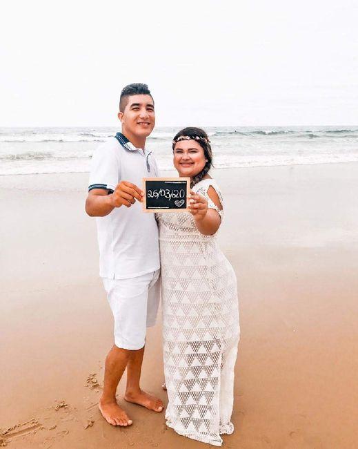 Pré wedding na praia - 1
