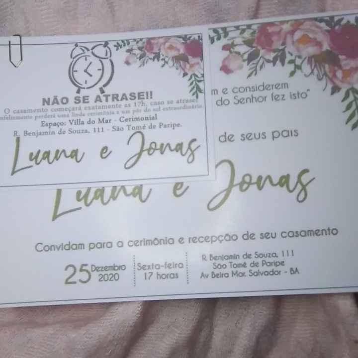 Nossos convites diy #vemver - 3