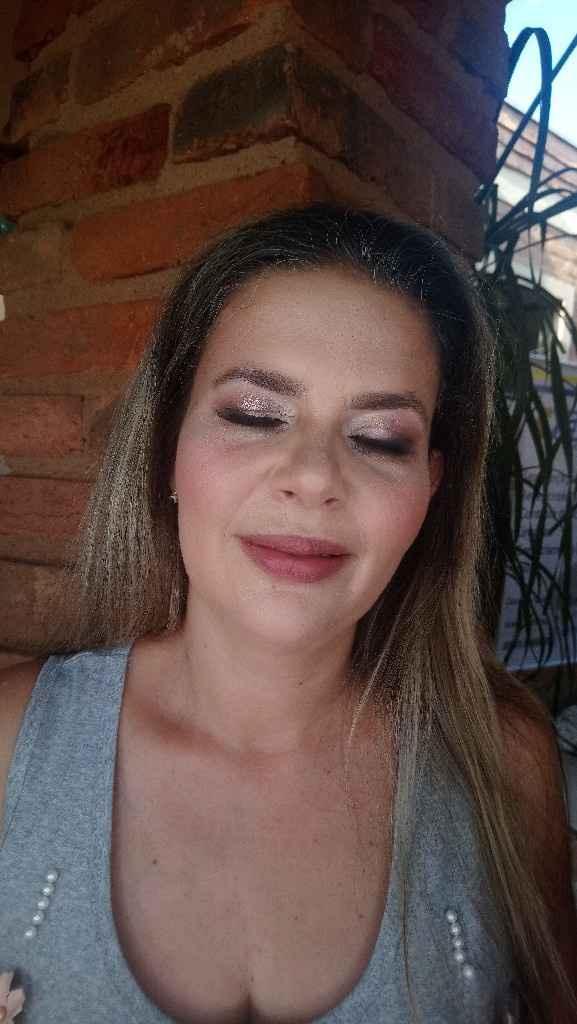 Encontro de noivas, ganhei uma maquiagem profissional - 4