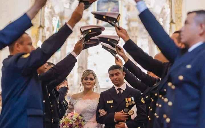 Casamento com honras militares - 1