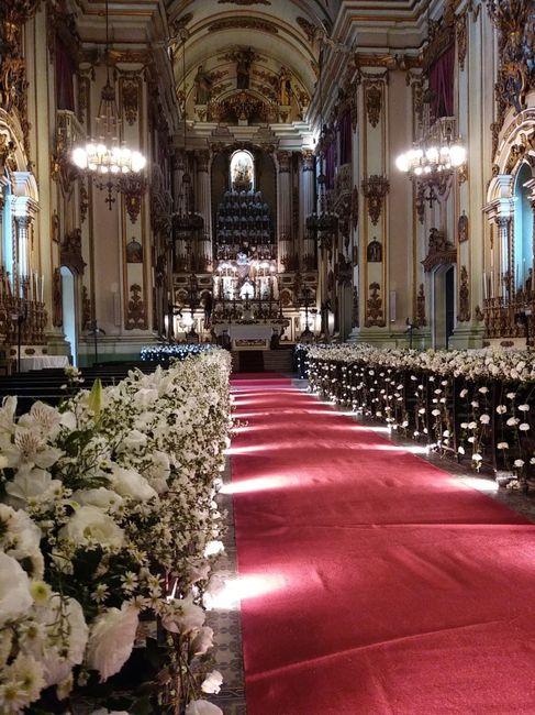 Decoração da Igreja 1