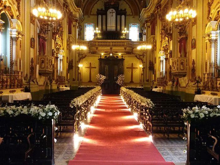 Decoração da Igreja 3