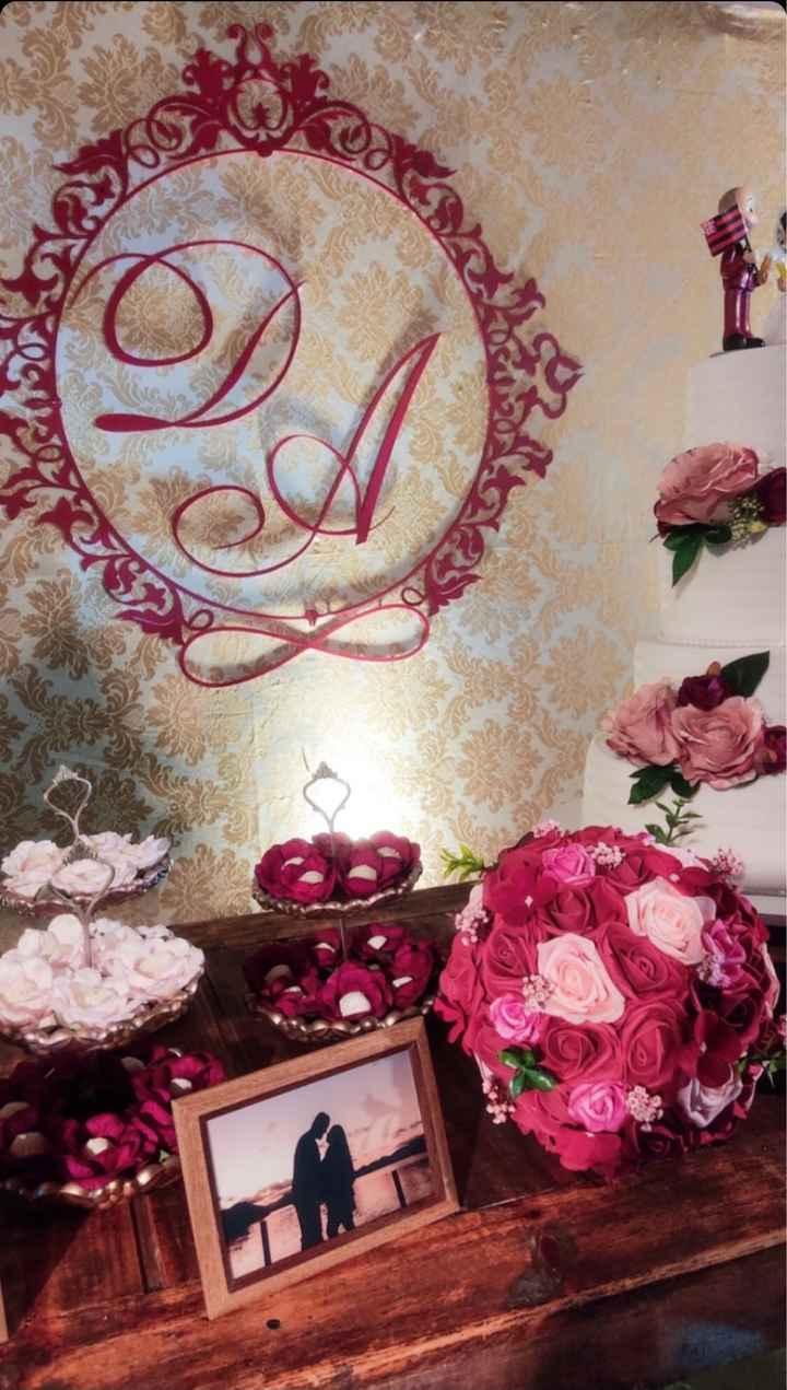 Detalhes decoração / pajens e damas - 11