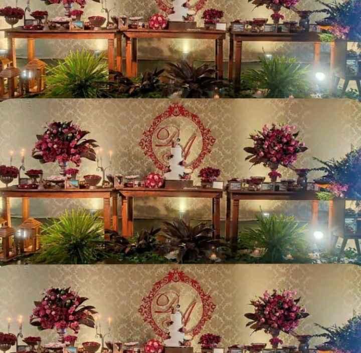 Detalhes decoração / pajens e damas - 1