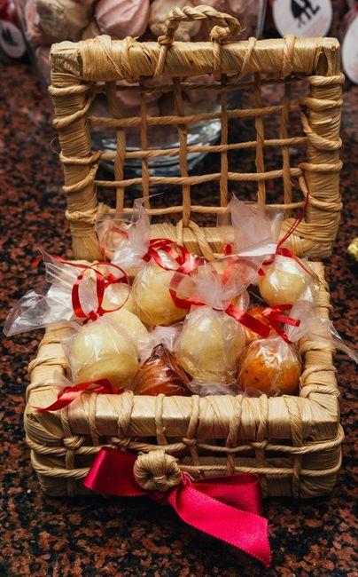 balinhas de coco caramelizadas