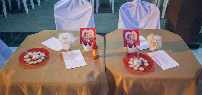 Mesa dos Convidados com Musse salgada e Torradas