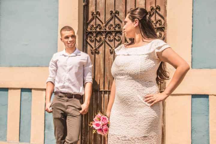 As fotos do meu casamento no civil saiu. - 5