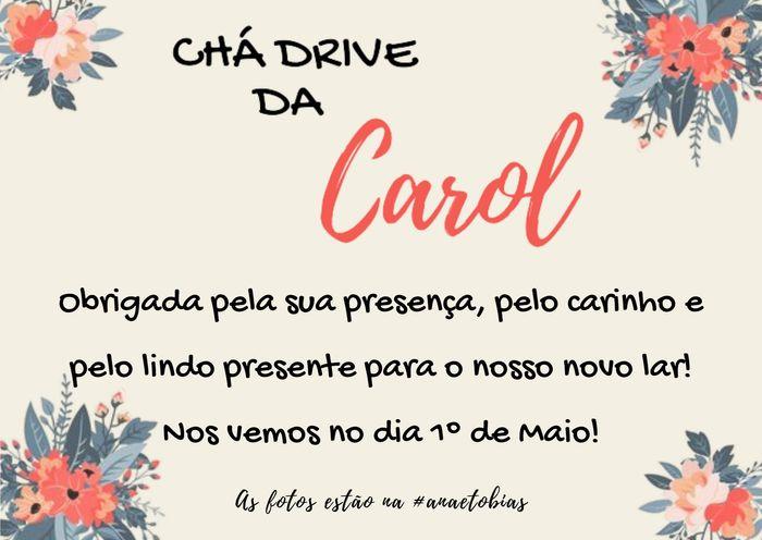 Faltam 28 dias + Chá Drive #anaetobias - 5