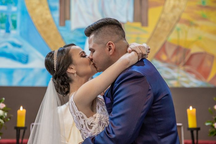 Casamentos reais 2019: o beijo no altar 2
