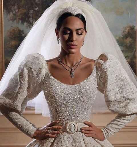Vestidos de noiva com brilho - 3
