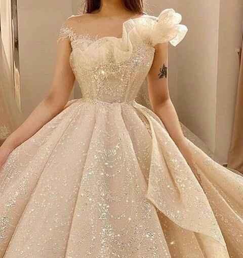 Vestidos de noiva com brilho - 4