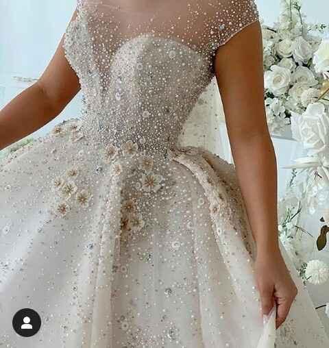 Vestidos de noiva com brilho - 6