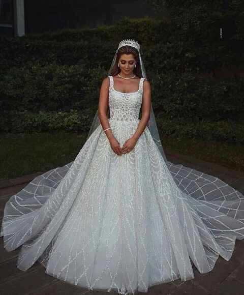 Vestidos de noiva com brilho - 7