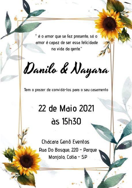 Duvida nos convites 1
