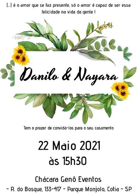 Duvida nos convites 3