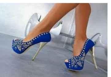 Sapato azul!! - 1