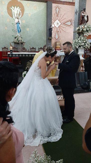 Casei e foi lindo 💒👰🤵❤️ 8