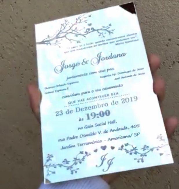 Convite padrinhos - 2
