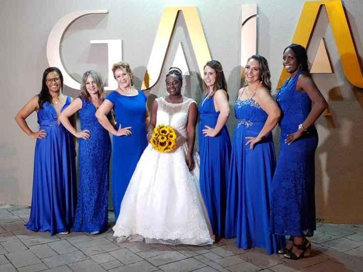 Qual cor de vestido sugerir para madrinhas e mãe dos noivos? - 1