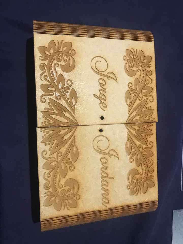 Inspiração para caixa de padrinhos - 1