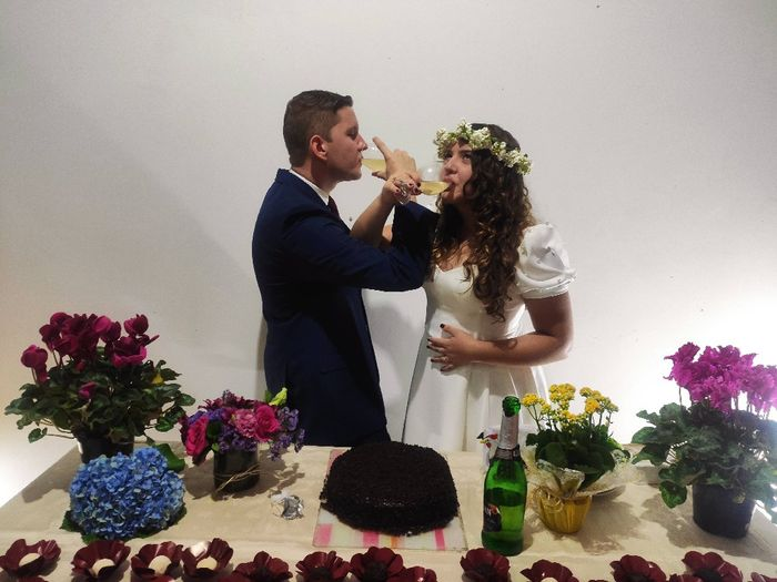 Com segurança: noivinha conta como casou em casa 👰 5