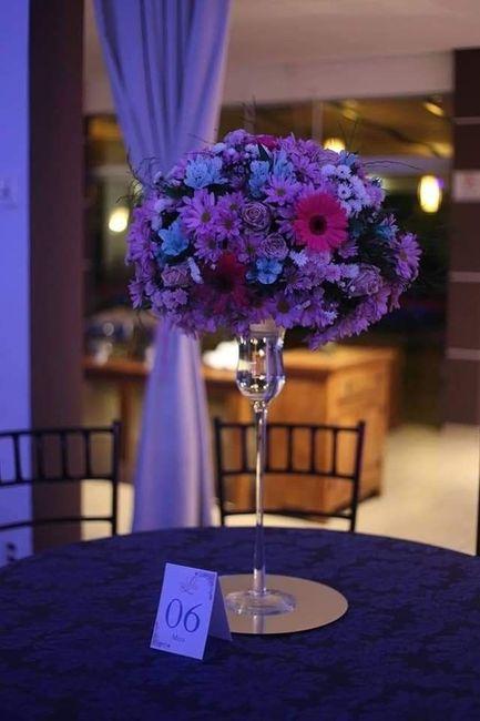 Flores artificiais no casamento 1